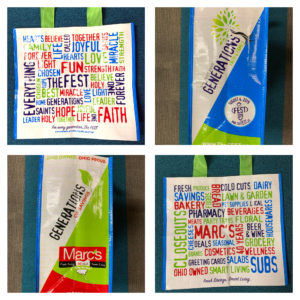 2019 Marc's Mom FEST Giveaway Bags